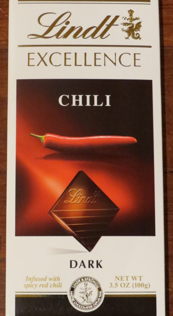 Dark Chocolate Chili Bar by Lindt